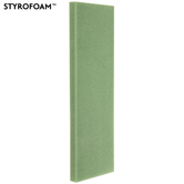 "Green Styrofoam Sheet - 36"" x 11 3/4"""